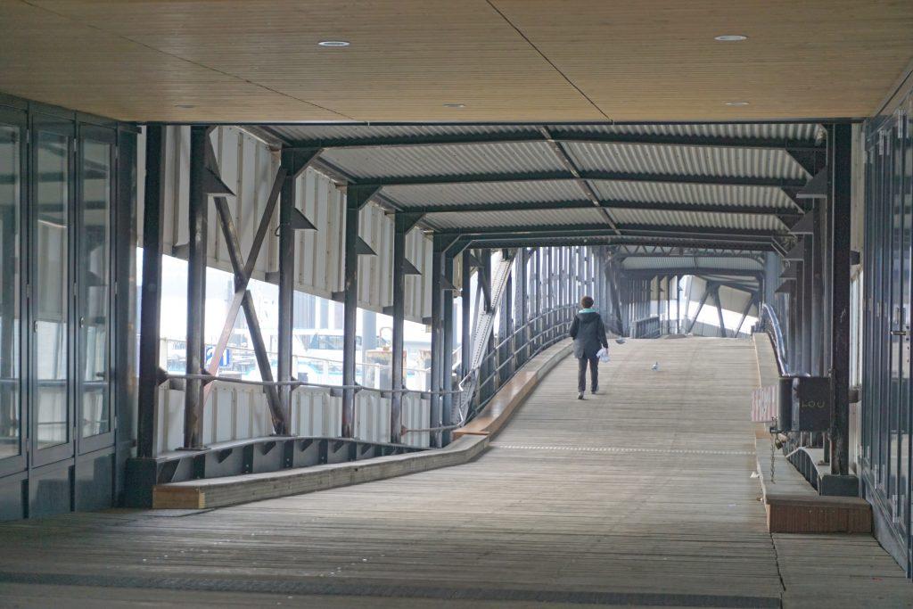 Hamburger Hafen Überseebrücke