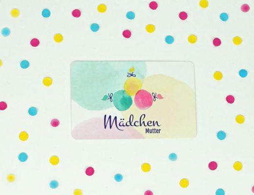 Visitenkarte Mädchenmutter
