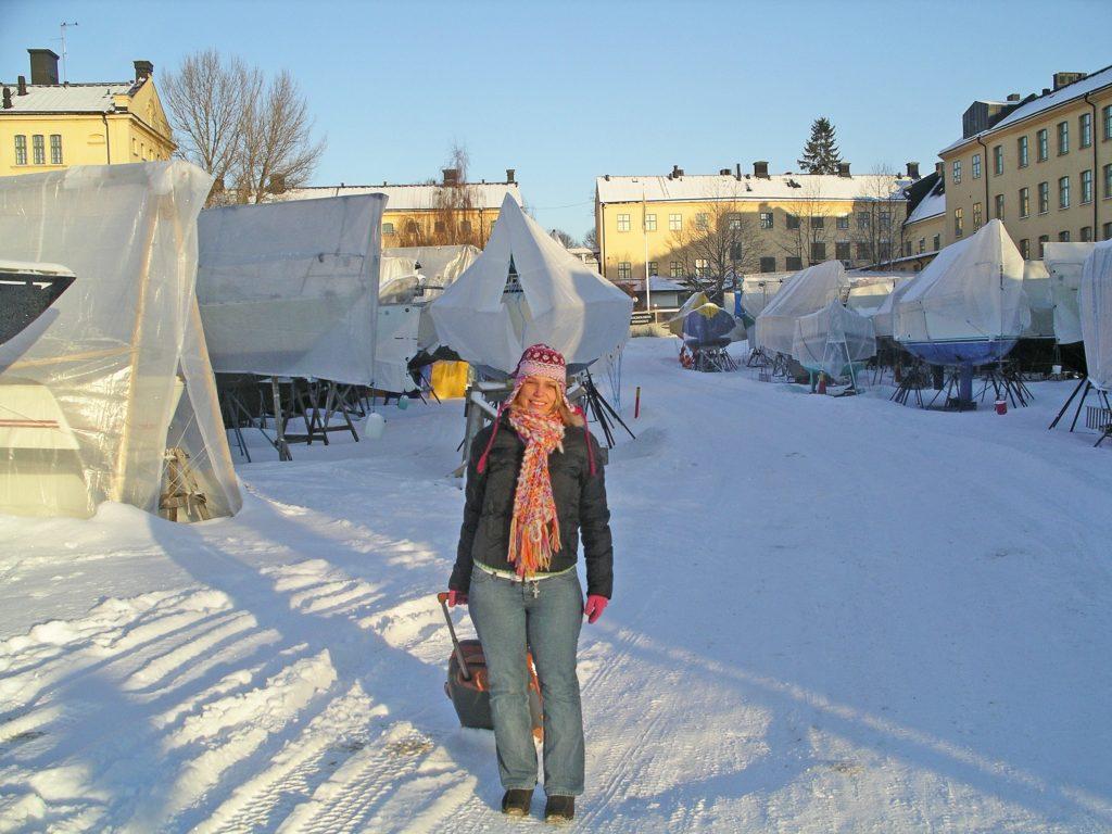 Stockholm Schnee