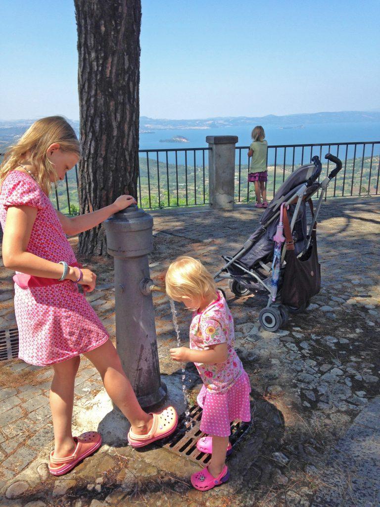 Aussicht Montefiascone Italien