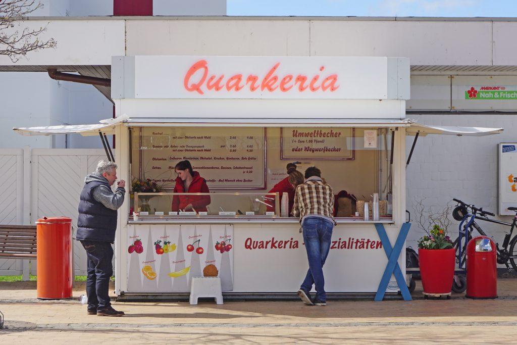 Quarkerika am Südstrand auf Fehmarn