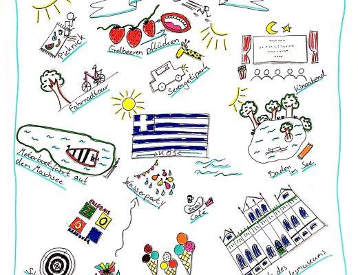 Sommerferien 2017 als Sketchnotes