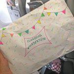 Flugzeug wundertüte im Flugzeug Beschäftigung Kinder