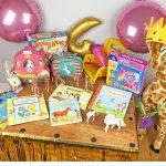 Geburtstagstisch 4. Geburtstag Geschenke 4 jährige