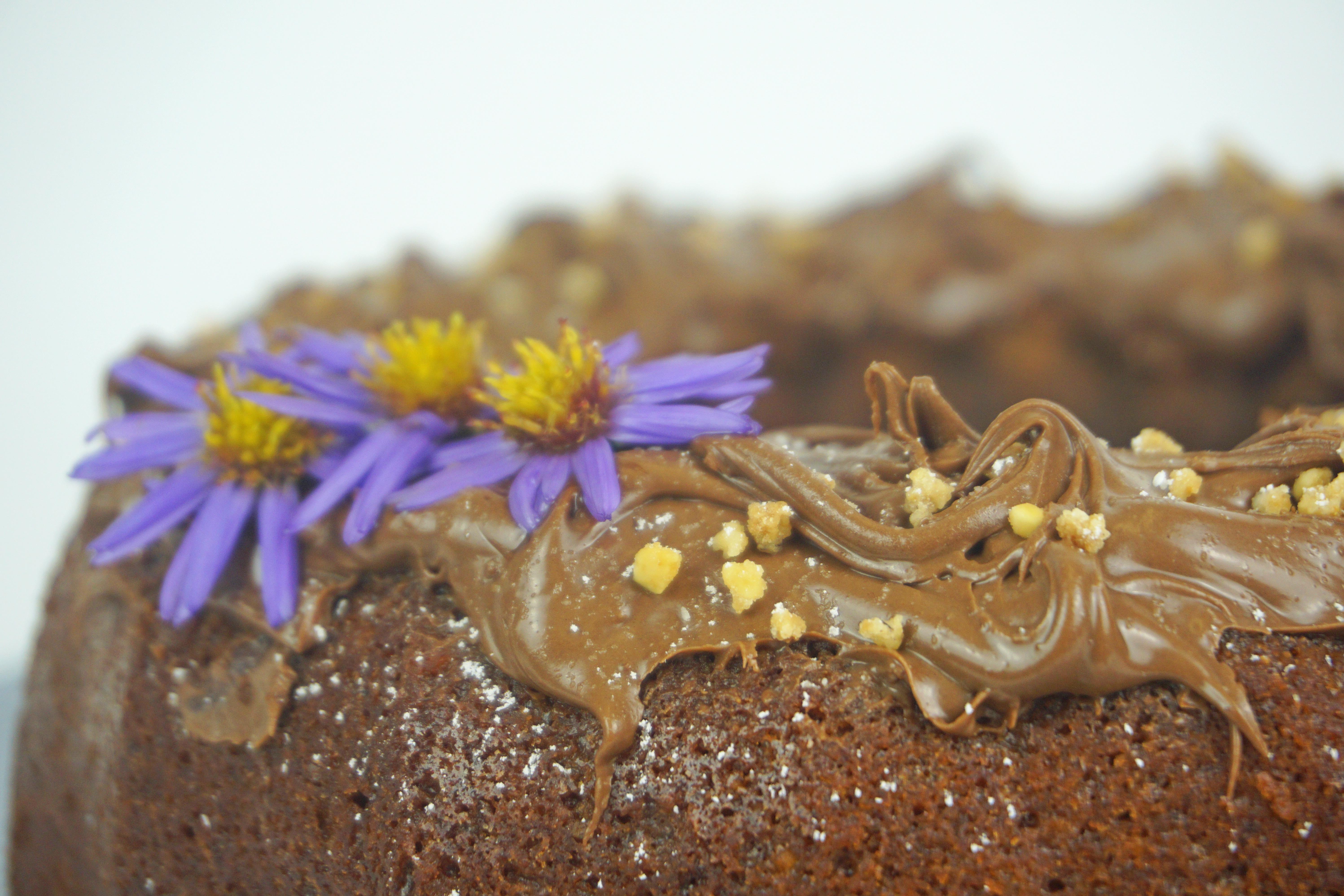 Der Saftigste Nuss Nougat Kuchen Mädchenmutter