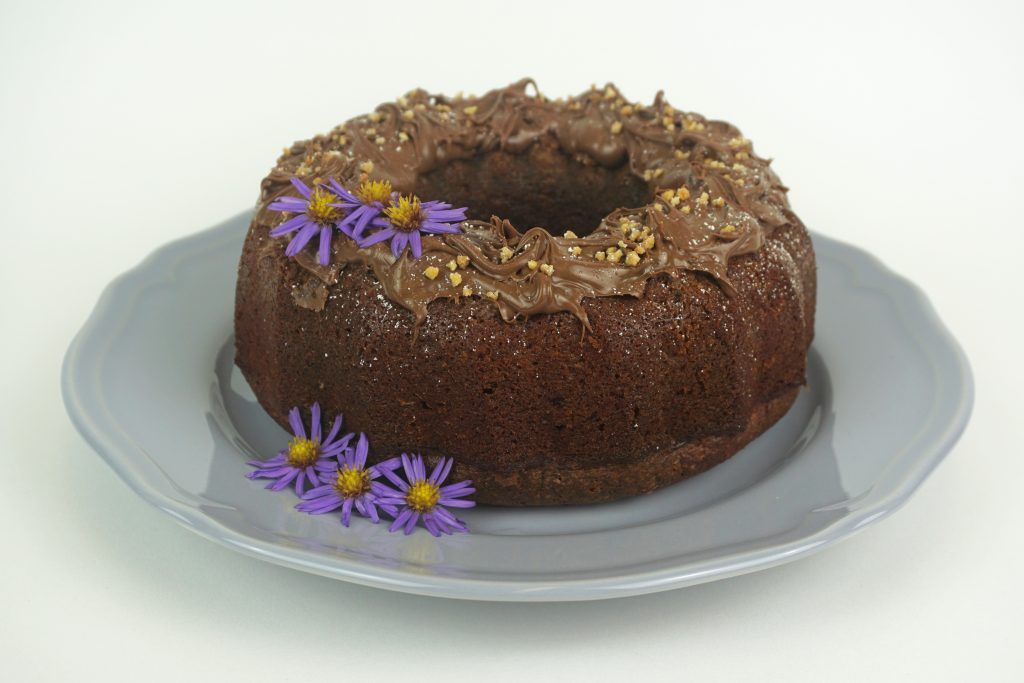 Nuss Nougat Kuchen saftig