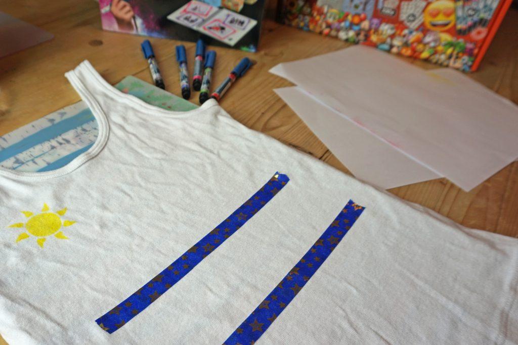 Orbis Airbrush Textil Hilfslinien