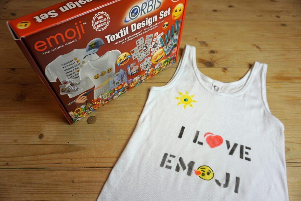 Orbis Airbrush Emoji Textil Set Revell