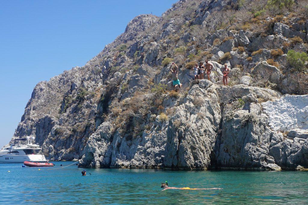 Kalymnos-Klippenspringen-Kos