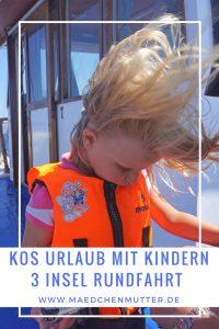 Kos 3 Insel Rundfahrt mit Kindern