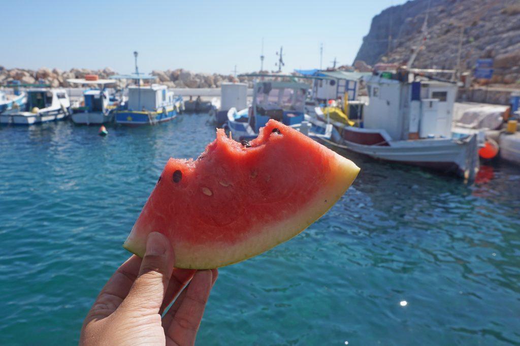Wassermelone-Boot-Friederike-Kos-Snack