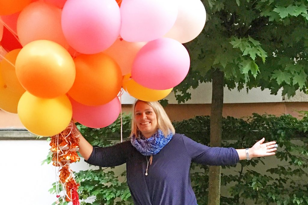 Ballons-Blogfamila Elternbloggerkonferenz Berlin