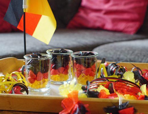 Deutschland-Snack-Fussball süsser WM EM