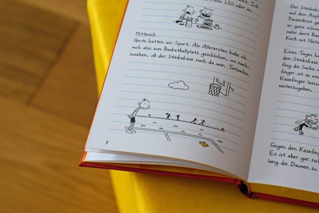 Gregs-Tagebuch-Band-1-Spezial-Käseausgabe