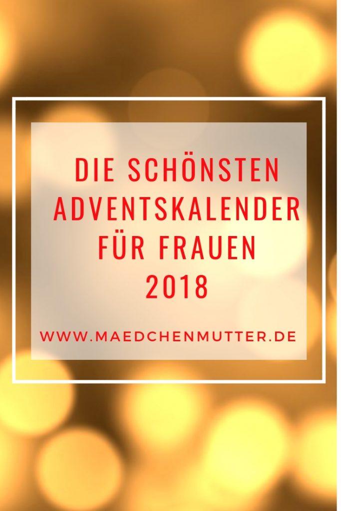 Die schönsten Adventskalender für Frauen 2018 online kaufen uebersicht