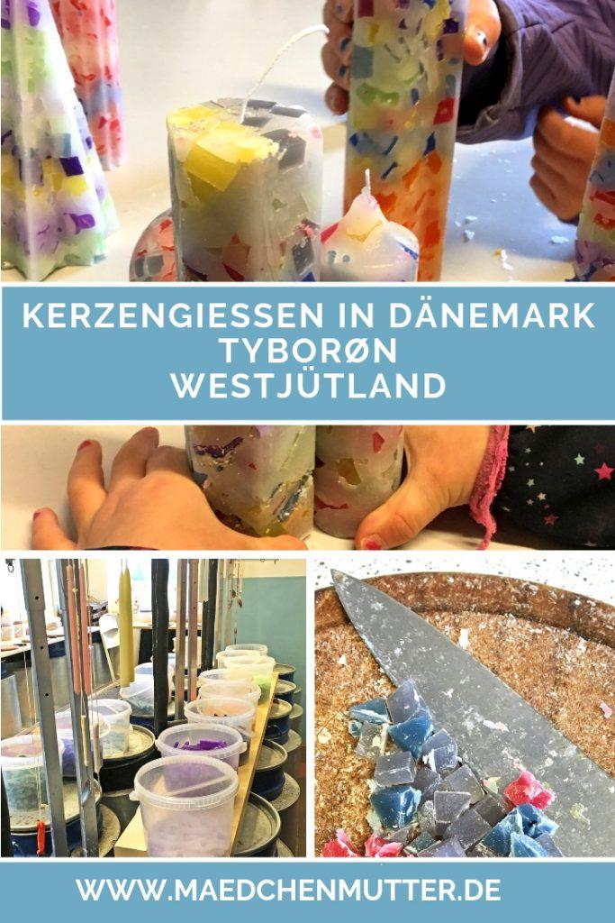 Kerzen giessen ziehen Dänemark Westjuetland Tyboron Urlaub Kinder