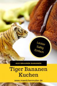Tiger Bananen Kuchen Pin1