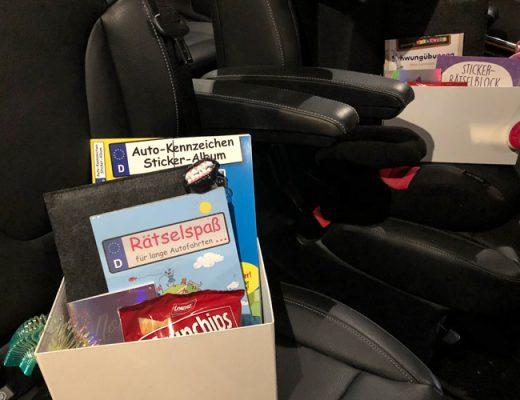 Kinder Auto Reise Box Beschaeftigung Autofahrt