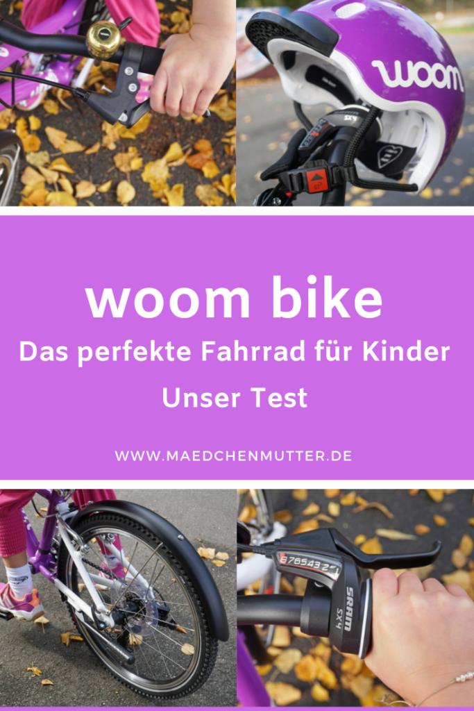 woom bike Fahrrad perfekt Kinder