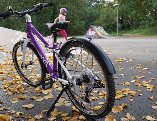woom 4 Bike Kinder Fahrrad Seitenstaender