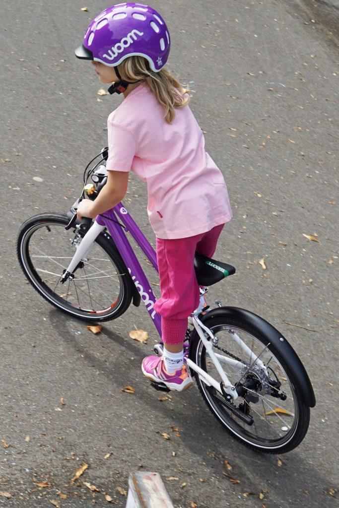 woom 4 Fahrrad Kinder Fahrspass