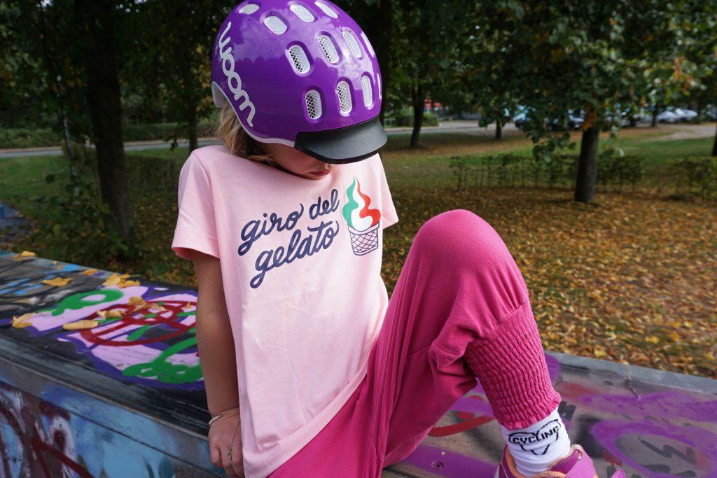woom Bike Bekleidung Socken Kinder Shirt Fahrrad