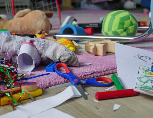 Selbstständig Aufraeumen mit Kindern Tipps Methoden